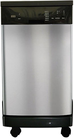 6. SPT SD-9241SS Energy Star Portable Dishwasher