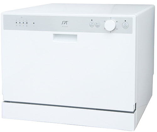 4. SPT SD-2202 W Countertop Dishwasher