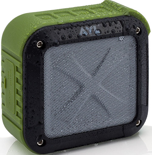 3. Portable Outdoor and Shower Bluetooth 4.0 Speaker