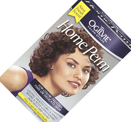 2. Ogilvie Home Perm for Color Treated Hair