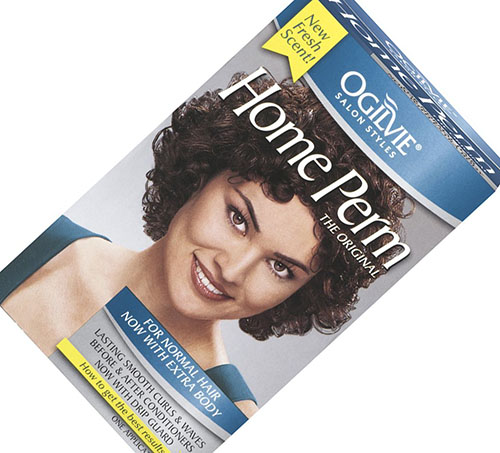 3. Home Perm for Normal Hair