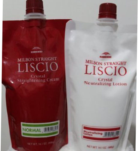7. LISCIO Crystal Cream Straighteners