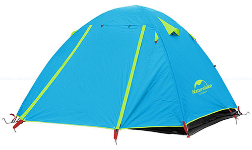10. Weanas® Waterproof Double Layer 2, 3, 4 Person Tent