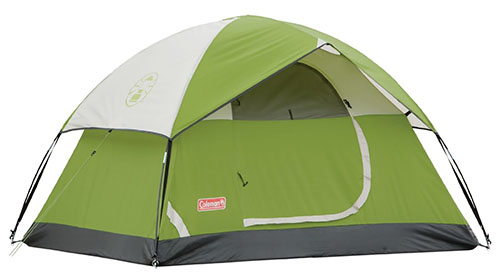 1. Coleman Sundome 2 Person Tent