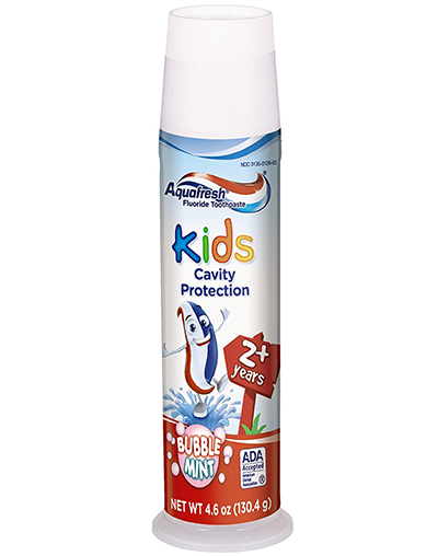 8. Aquafresh Kids Toothpaste