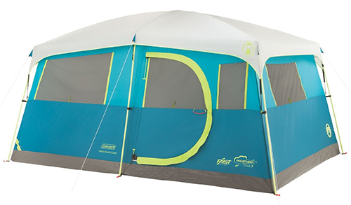 6. Coleman 8 Person Tenaya Cabin Tent