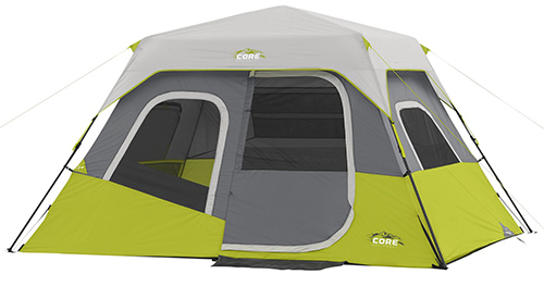 4. CORE 6 Person Instant Cabin Tent