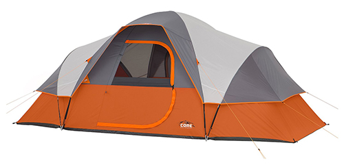 5. CORE 9 Person Extended Dome Tent