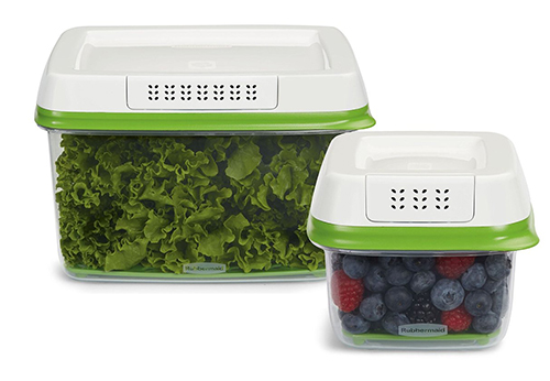 4. Rubbermaid FreshWorks Produce Saver Food Storage Container