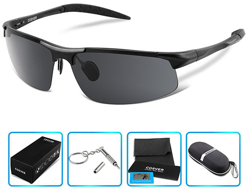 3. COSVER Polarized Sports Sunglasses
