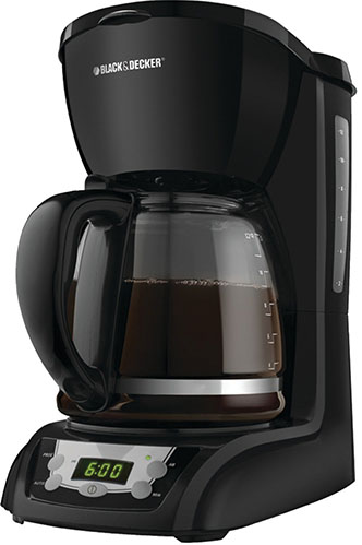 2. Black and decker DLX1050B 12 cup coffee maker.