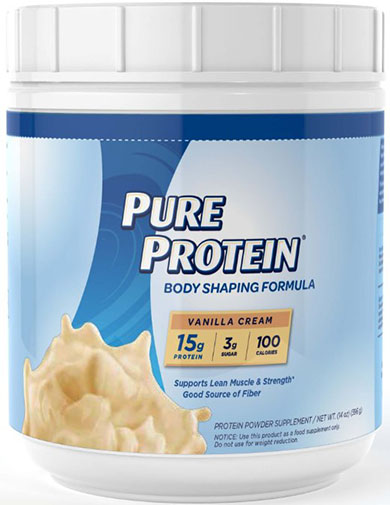 3. Pure Protein Natural Whey Protein