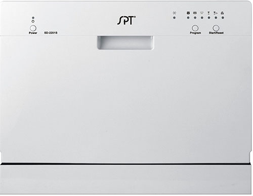 1.SPT Countertop Dishwasher