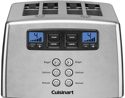 2 Cuisinart CPT-440 Touch to Toast Leverless 4-Slice Toaster