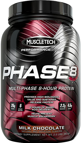 8. MuscleTech Protein Powder