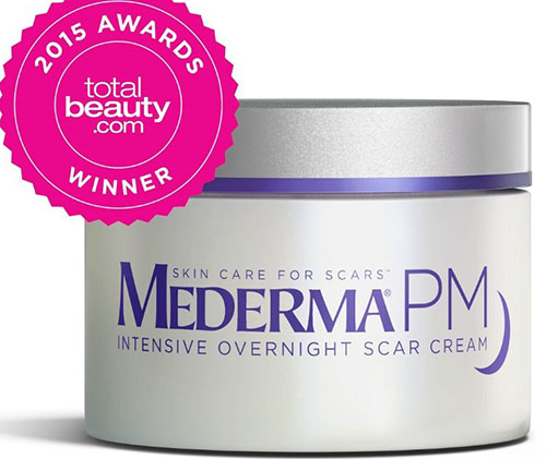 4. Mederma PM Intensive Overnight Scar Cream 1.7 oz.
