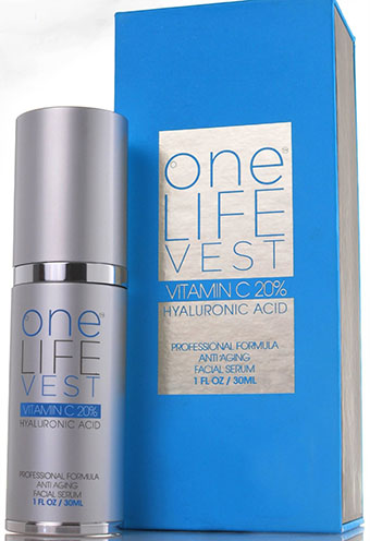 6. One Life Vest Anti Aging Skincare Vitamin C Serum