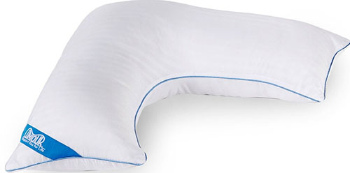 9. Contour L-Shaped Pillow