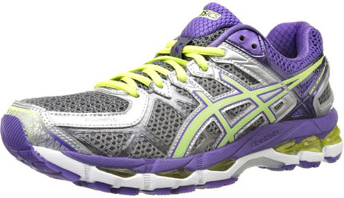 6. ASICS Women's GEL-Kayano 22 Running Shoe