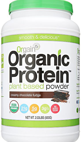4. Organic Protein Plant-Based Powder