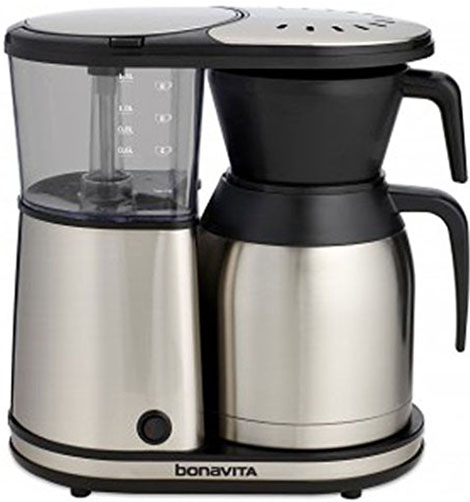 6. Bonavita BV1900TS 8 cup coffee brewer.