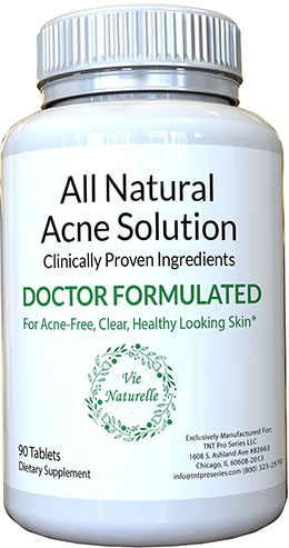 8. Vie Naturelle Acne Treatment Pills Supplement