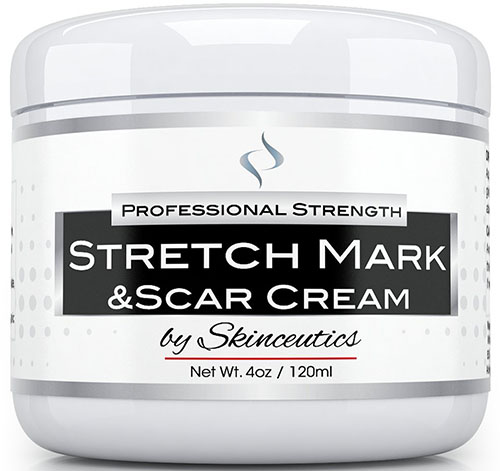 10. Stretch Mark and Scars Cream - Best for Acne Scar Removal-Ideal for Treatment, Prevention, Decrease & Minimize Old Marks