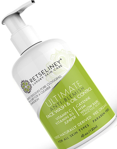 9. Retseliney Best Acne Face Wash & Oil Control, Acne Treatment for Face with 2% Salicylic Acid, for Teens, Adult