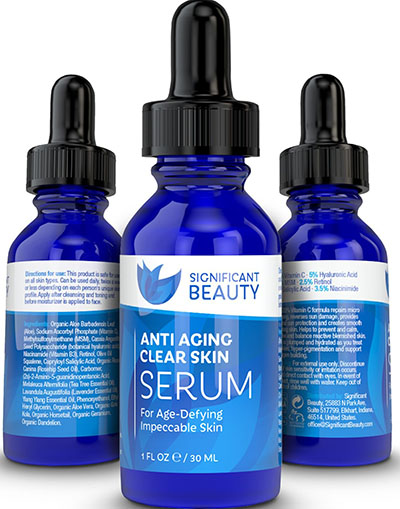 7. Significant Beauty Anti Aging Clear Skin Facial Serum