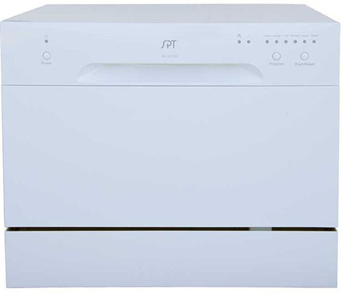 10. SPT SD-2213W Countertop Dishwasher
