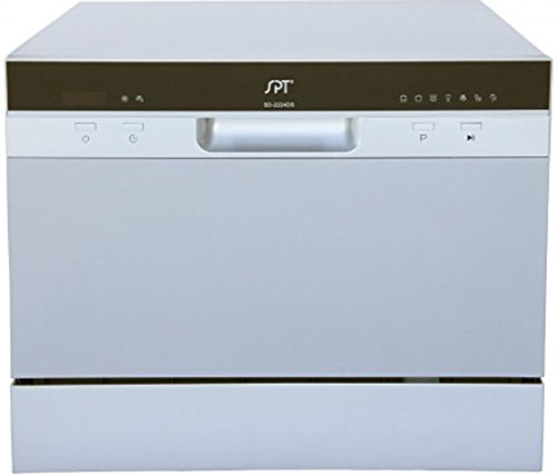 8. SPT SD-2224DS Countertop Dishwasher