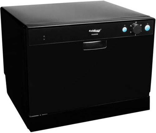 7. Koldfront 6 Place Setting Portable Countertop Dishwasher