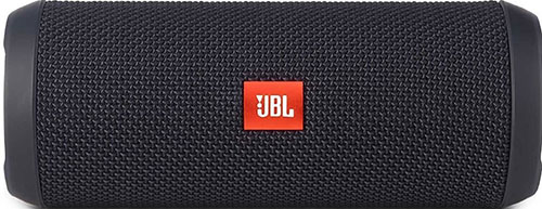 2. JBL Black Flip 3 Portable Bluetooth Speaker