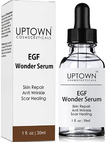1. Anti-Wrinkle & Acne Scar Removal EGF Wonder Serum from Uptown Cosmeceuticals,