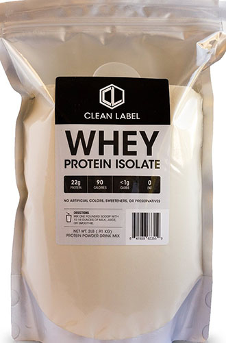 10. Clean Label Protein Isolate Powder