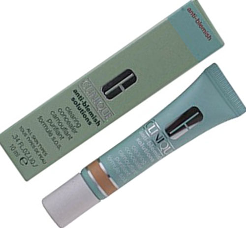 10. Clinique Acne Solutions Clearing Concealer