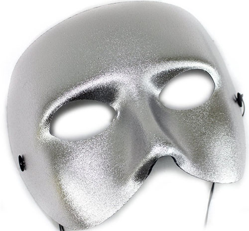 7. Casanova Men's Masquerade Mask