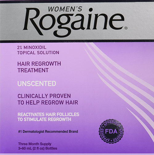 8. Rogaine for Women Hair Regrowth Treatment