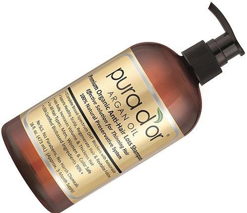 10. PURA D'OR Gold Label Shampoo (16 Fluid Ounce)