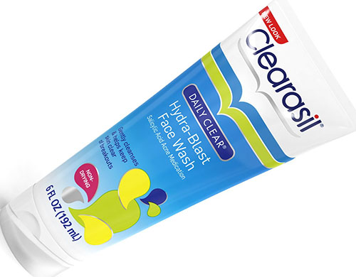 4. Clearasil Daily Clear Acne Face Wash
