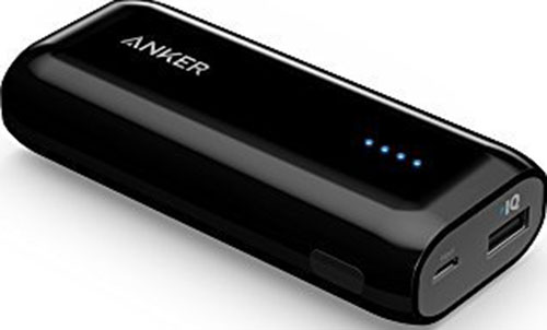 1. Anker Astro E1 5200mAh Candy bar-Sized Ultra Compact Portable Charger