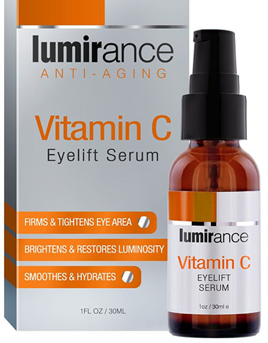 6. Luminance Vitamin C Eye Lift Serum