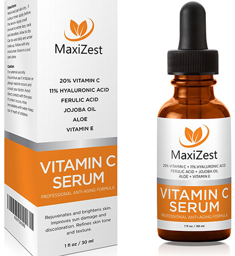 9. Vitamin C Serum For Face and Skin