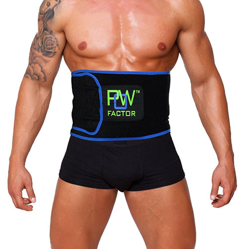 10. POW Effect Superior Waist Trimmer Belt