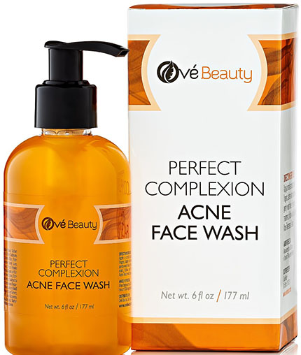 3. Acne Face Wash for Sensitive & Oily Skin