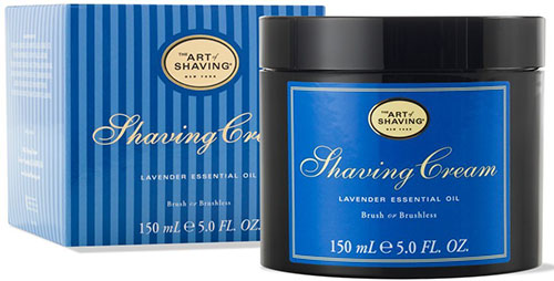 7. The Art of Shaving Shaving Cream, Lavender, 5 fl. oz.
