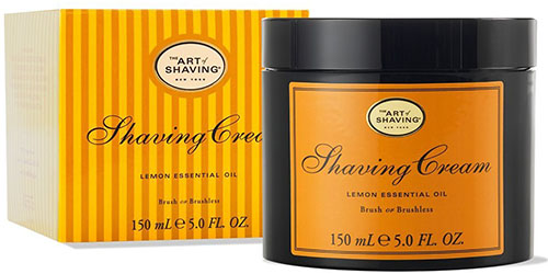 9. The Art of Shaving Shaving Cream, Lemon, 5 fl. oz.
