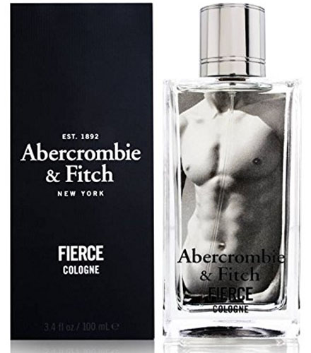 9. Abercrombie & Fitch Fierce Cologne 3.4oz
