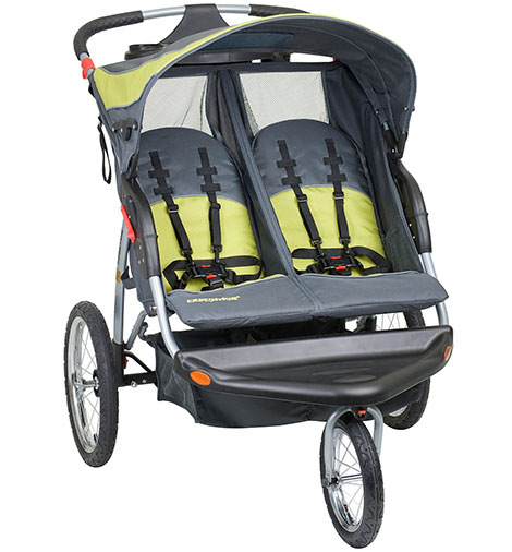 5. Baby Trend Expedition Double Jogger Stroller