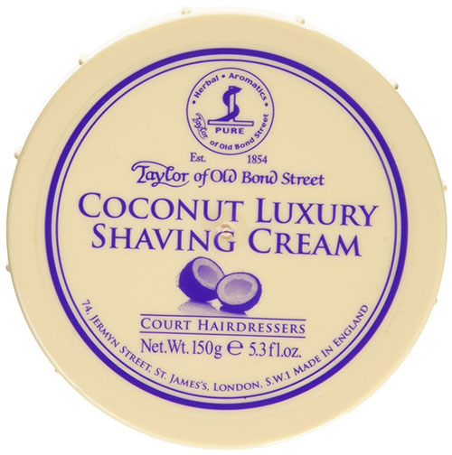 10. Taylor of Old Bond Street Shaving Cream Bowl, Coconut, 5.3 Ounce